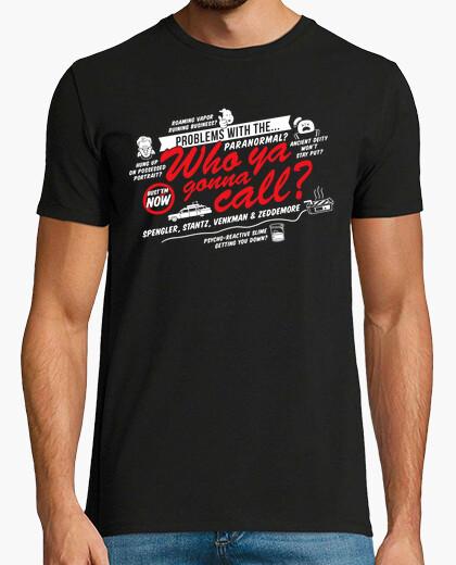 Tee-shirt qui vas-tu appeler?