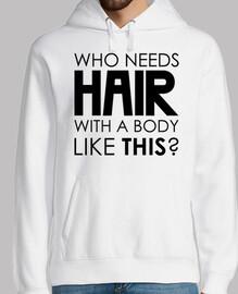 quien necesita cabello con un cuerpo co