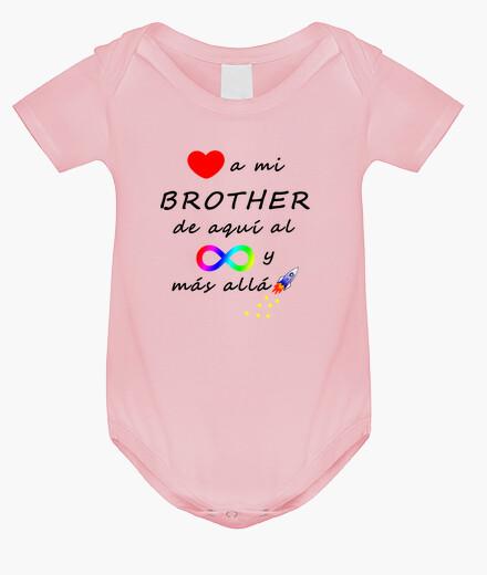 Ropa infantil Quiero a mi brother hasta el infinito