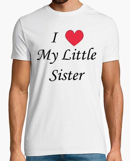 Camiseta Quiero a mi hermana pequeña