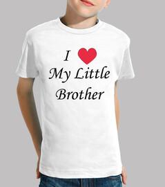 Quiero a mi hermano pequeño