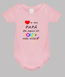 Quiero a mi papá hasta el infinito