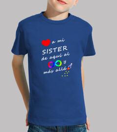 Quiero a mi sister hasta el infinito