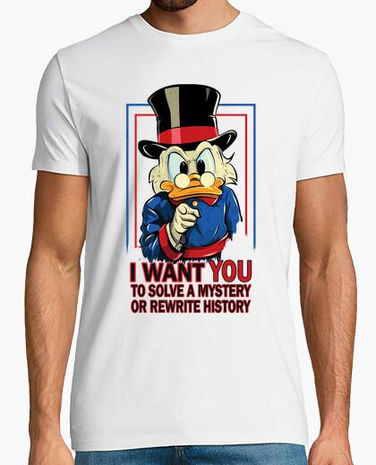 Camiseta quiero a resolver un misterio