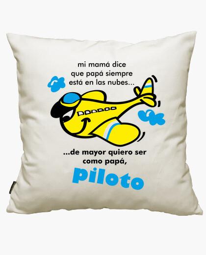 Funda cojín Quiero ser piloto