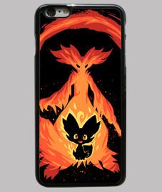 quiero ser un mago de fuego - caja del teléfono