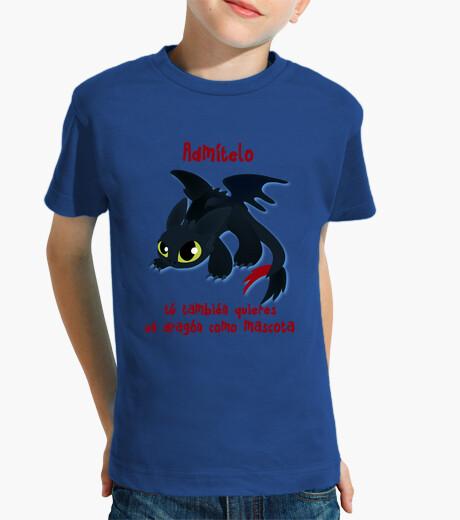 Ropa infantil Quiero un dragón de mascota