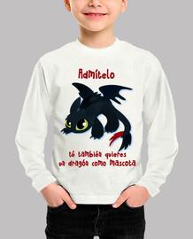 Quiero un dragón de mascota