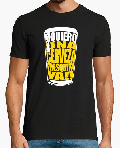Camiseta Quiero una cerveza