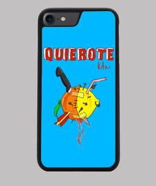 QUIEROTE Funda iPhone 7 y 8