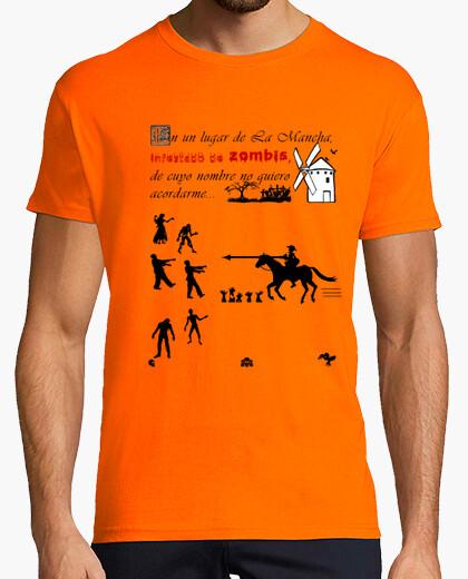 Camiseta Quijote zombis
