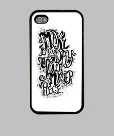 quote 1 iphone case 4/4s