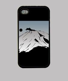 """Monte Fuji"" Funda iPhone 4"