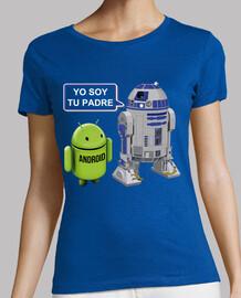 R2-D2 de Star Wars a Android: Yo soy tu padre