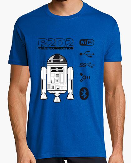 Camiseta R2-D2 Full Connection