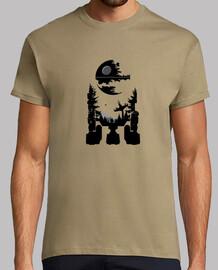 R2-D2 paisaje Star Wars Estrella de la Muerte