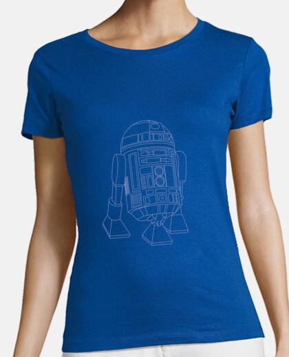 r2-d2 shirt girl