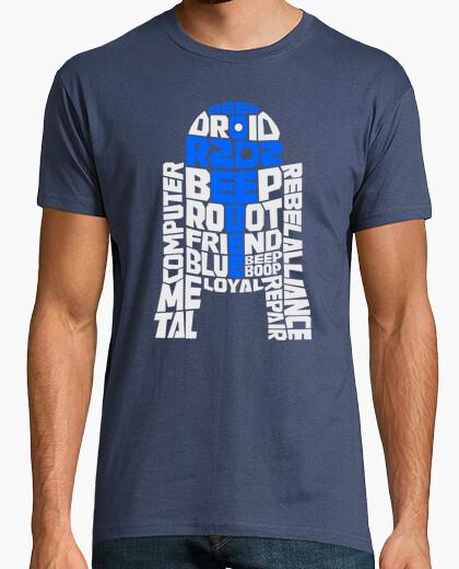 Tee-shirt R2-D2 Typographie
