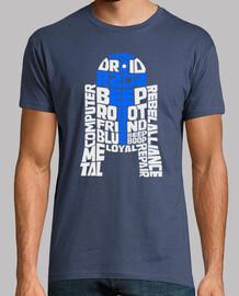 R2-D2 Typographie