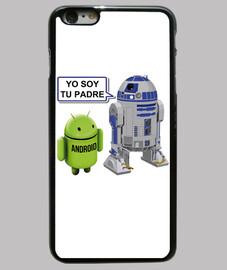 R2 D2 de Star Wars a Android: Yo soy tu