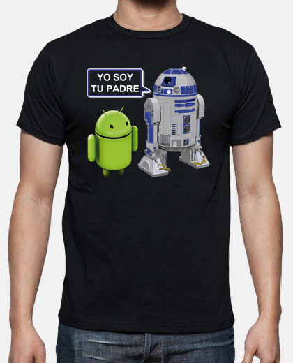 R2 D2 Star Wars a Android:Yo soy tu padre