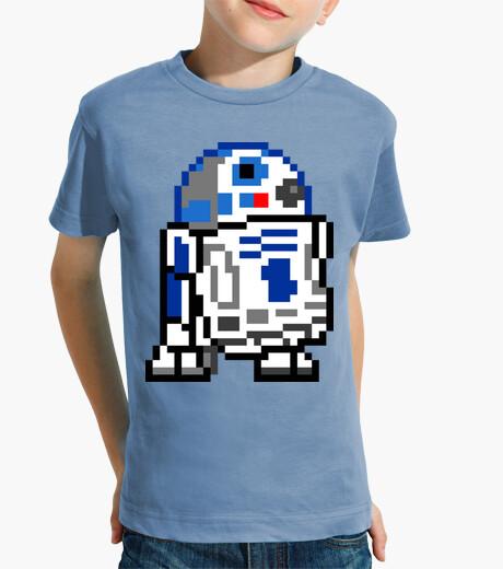 Ropa infantil r2d2 8bit (Camiseta Niño)