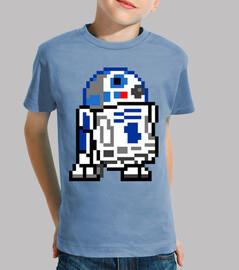 r2d2 8bit (Camiseta Niño)