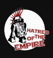 Camisetas R2D2 Hatred of the empire