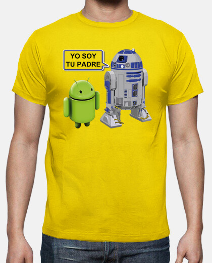 R2D2 Star Wars a Android:Yo soy tu padre