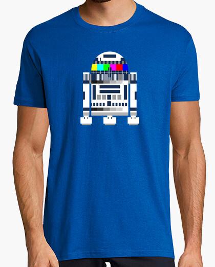 R2d2 tv t-shirt