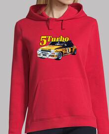 r5 turbo sudadera chica