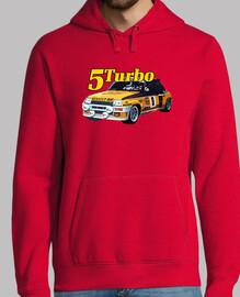 r5 turbo sudadera chico