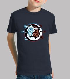 raava x vaatu  tee shirt  d'enfants
