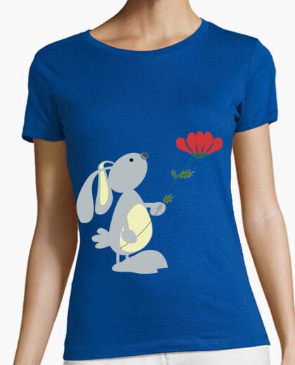 Camiseta Rabbit & flower