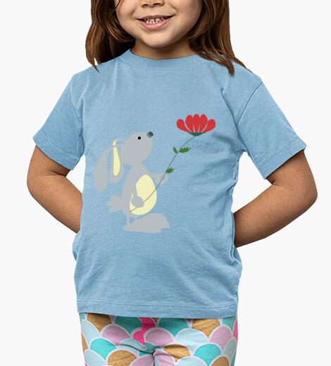 Ropa infantil Rabbit & flower