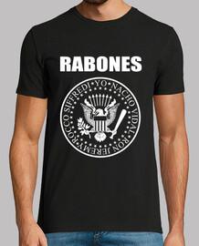 Rabones (tinta blanca)