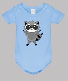raccoon kawaii
