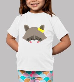 raccoon ragazza