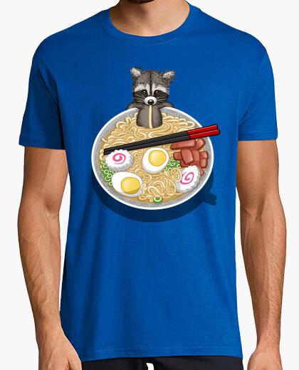 Raccoon ramen t-shirt