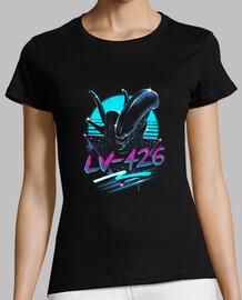 rad alien shirt mujer