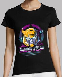 rad camisa para mujer del escarabajo