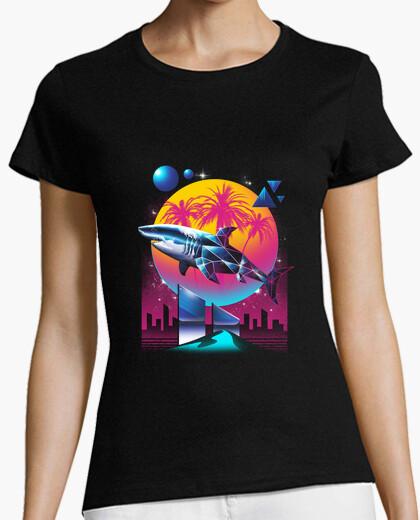 Camiseta rad camisa para mujer del tiburón