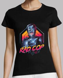 rad camisa para mujer policía