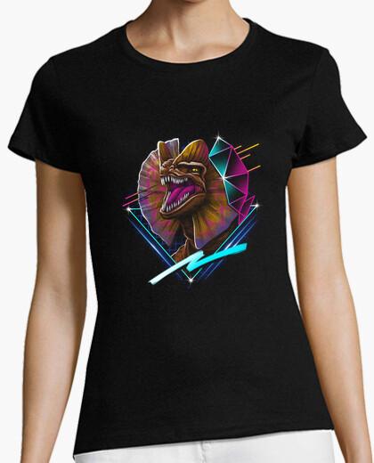 Camiseta rad dilafosaurio camisa para mujer
