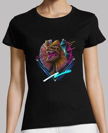 rad dilafosaurio camisa para mujer