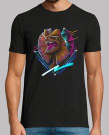 rad dilaphosaurus camiseta para hombre