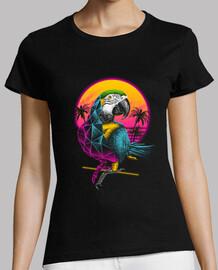 rad loro camisa para mujer