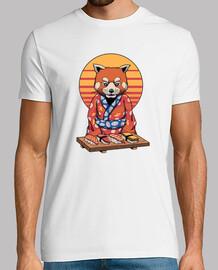 rad panda camisa para hombre