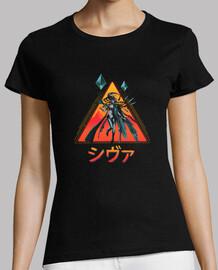 rad shiva shirt para mujer