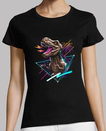 rad t-rex camisa mujer
